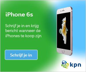 iPhone 6s voorinschrijving